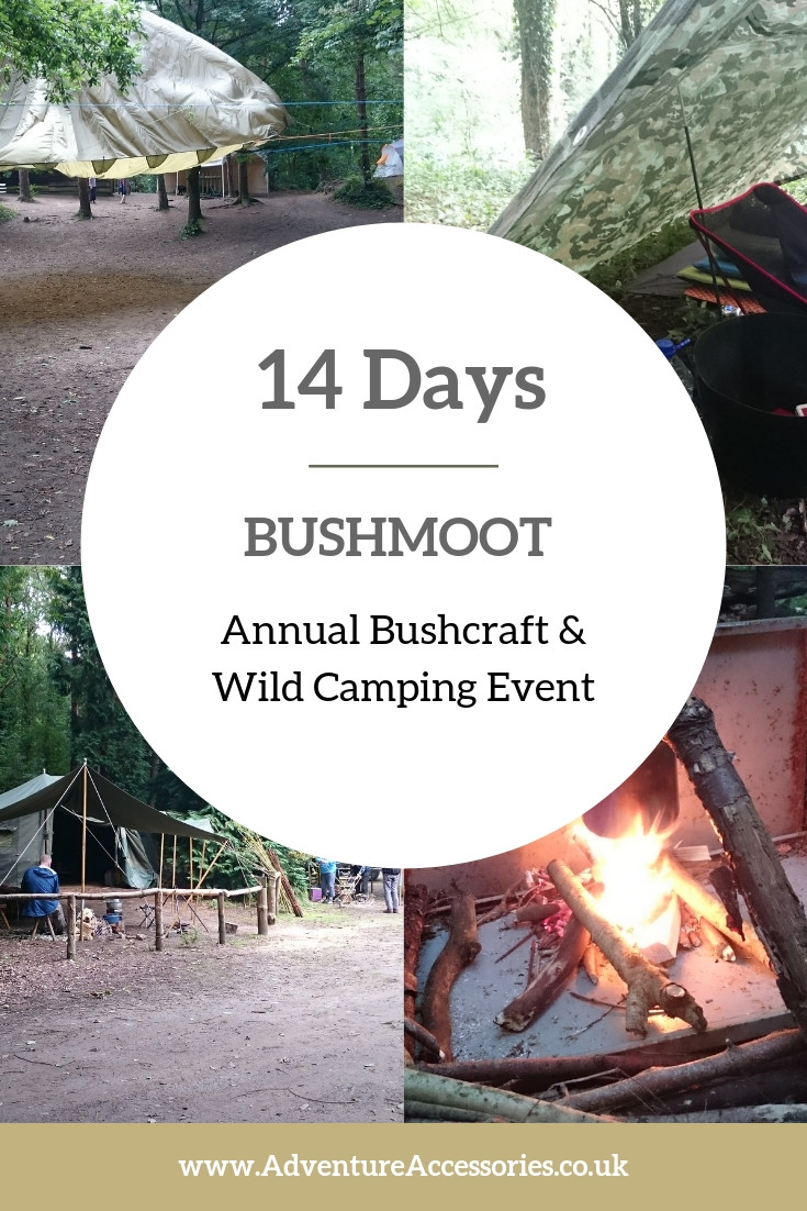 Bushmoot - Annual Buchcraft and Wild Camping Event, Pinterest. Adventure Accessories
