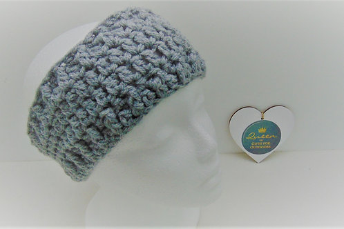 Ear Warmer Headband - Grey. Gifts for Outdoors, Adventure Accessories