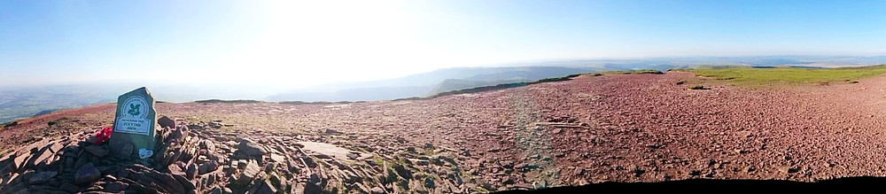 Pen y Fan Panoramic View. Adventure Accessories