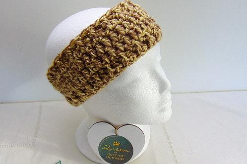 Ear Warmer Headband - Caramel Mocha. Gifts for Outdoors, Adventure Accessories