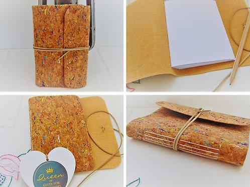 Traveller Notebook - Cork Fabric