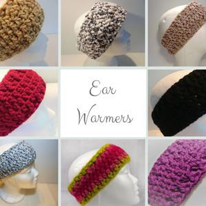 Ear Warmers - Crochet Headbands