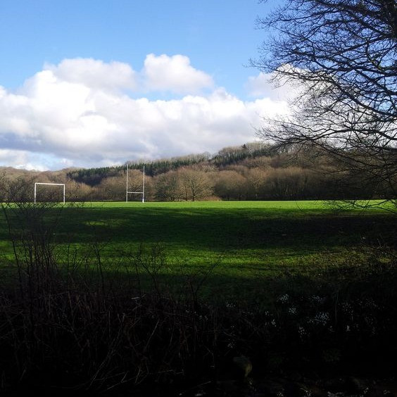 School playing fields on National Park Land. Urban Outdoors, Adventure Accessories
