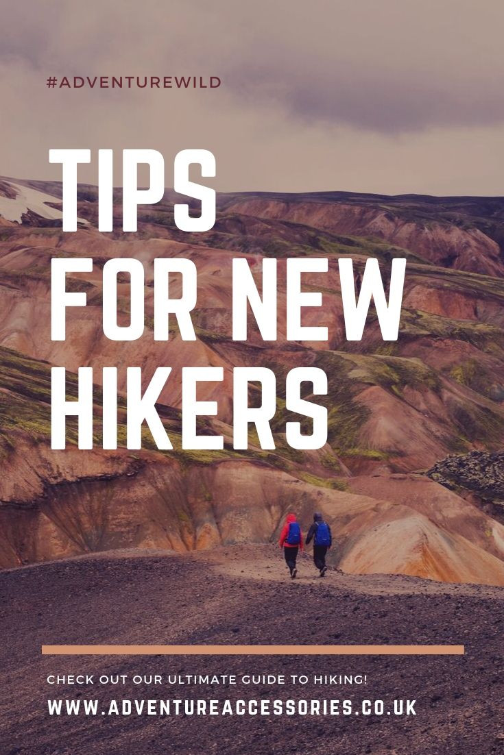 Tips for New Hikers - Pinterest. Adventure Accessories