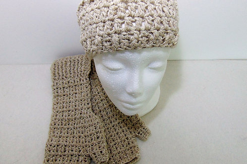 Hiking Mitts and Ear Warmer Set - Sahara, Gifts for Outdoors, Adventure Accessories