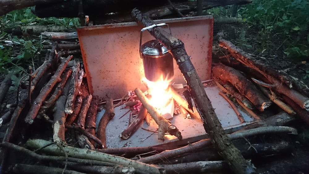 Wild Camping, camp fire - Adventure Wild. Adventure Accessories