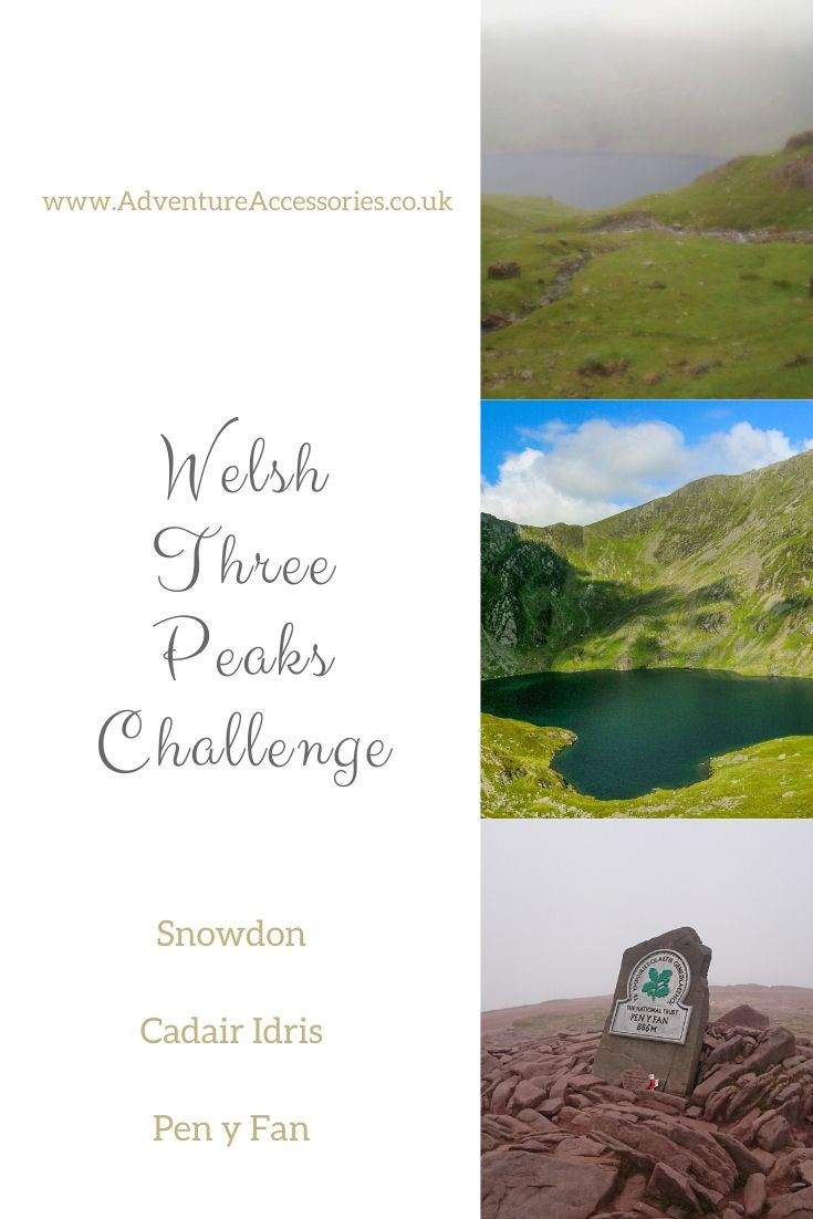 Pinterest, Welsh Three Peaks Challenge. Adventure Accessories