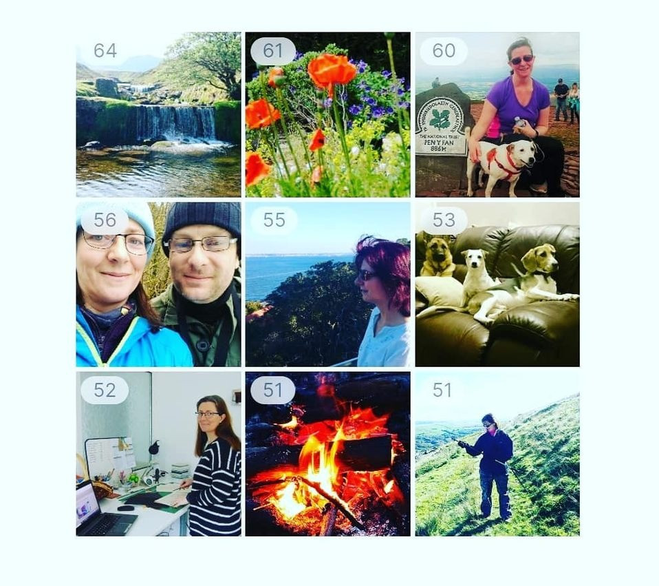 Top Nine Instagram collage for @AdventureAcces