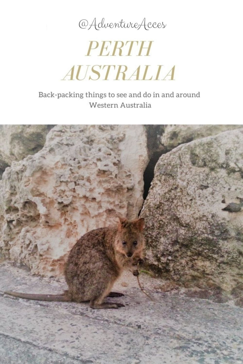 Backpacking things to see and do in and around Perth Australia. Adventure Accessories