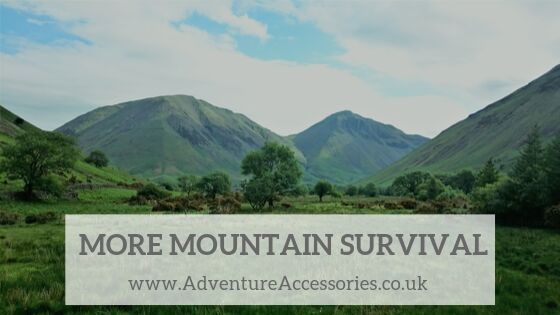 More Mountain Survival Tips. Adventure Accessories