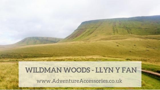 The Wildman Woods, Llyn y Fan Fach. Adventure Accessories