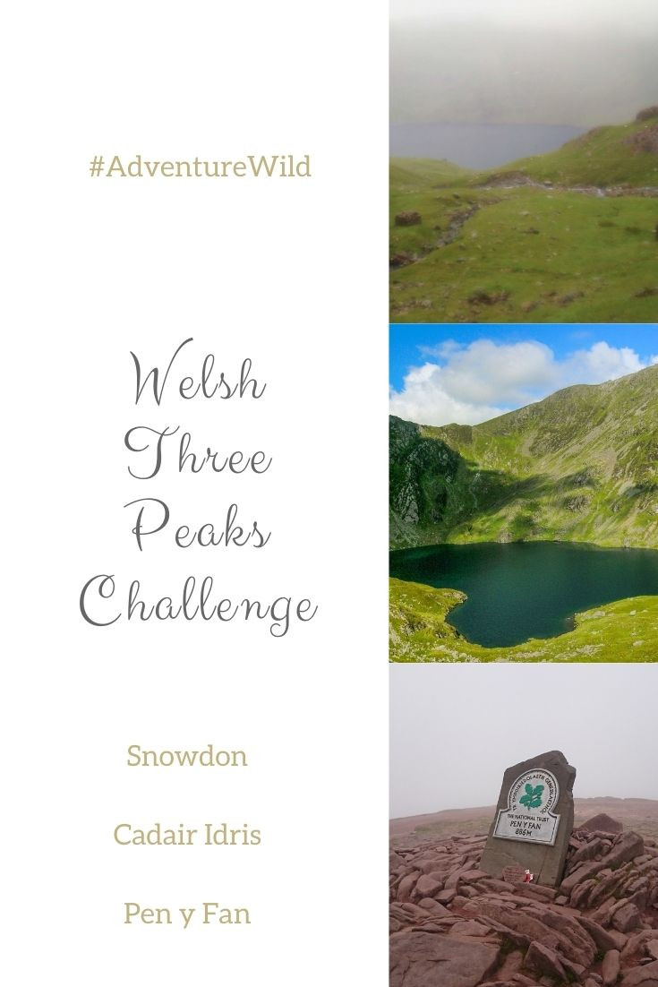 Pinterest, Welsh Three Peaks Challenge. Adventure Accessories