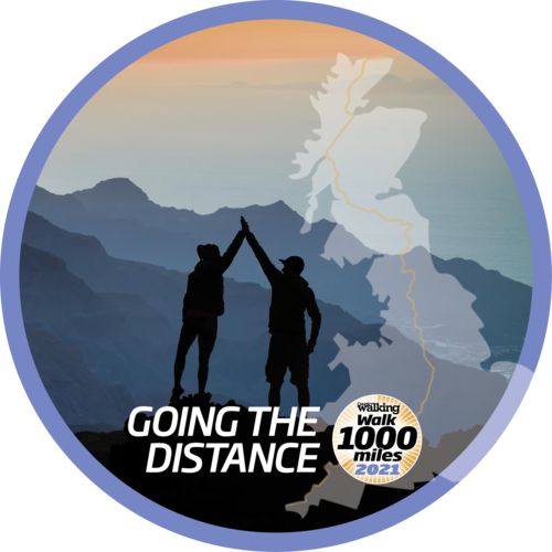 walk-1000-miles-logo blog post by Adventure Accessories