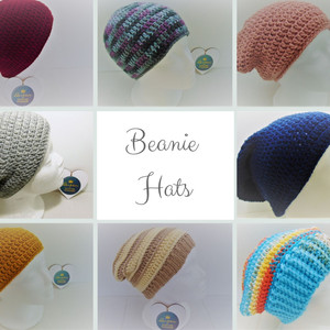 Beanie Hats in Classic and Slouchy designs