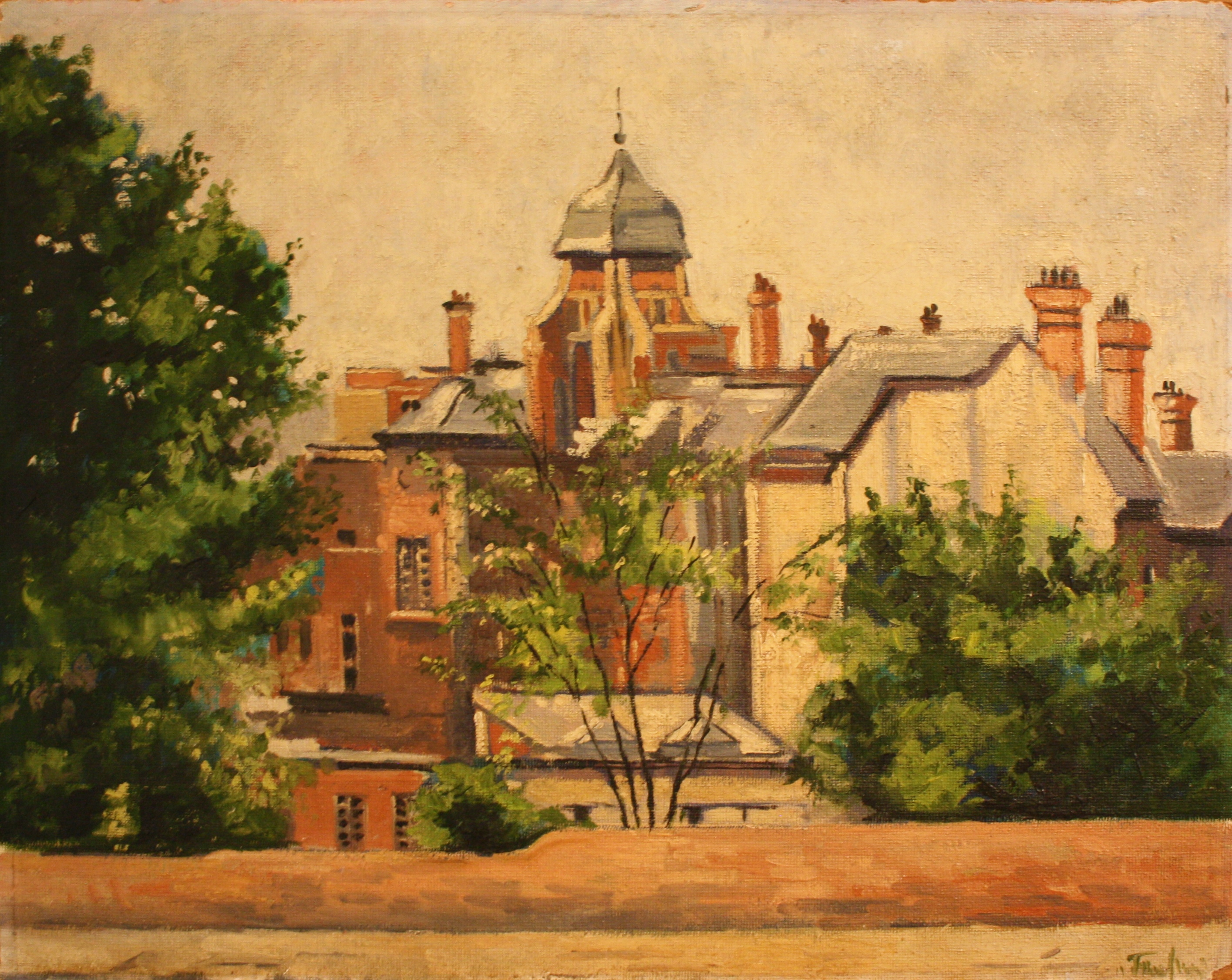 9. London Chest Hospital (rear) 1955.jpg