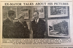 Ex-Mayor talks about his paintings