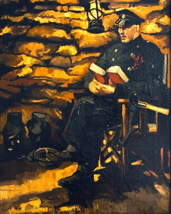 76. On Guard, Fireman at Rest .jpg