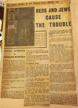 """""""Reds and Jews cause the Trouble"""""""