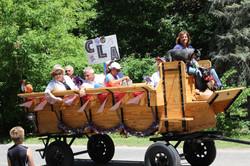CLA Parade Float