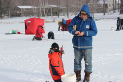 Winter Carnival Ice Fishing