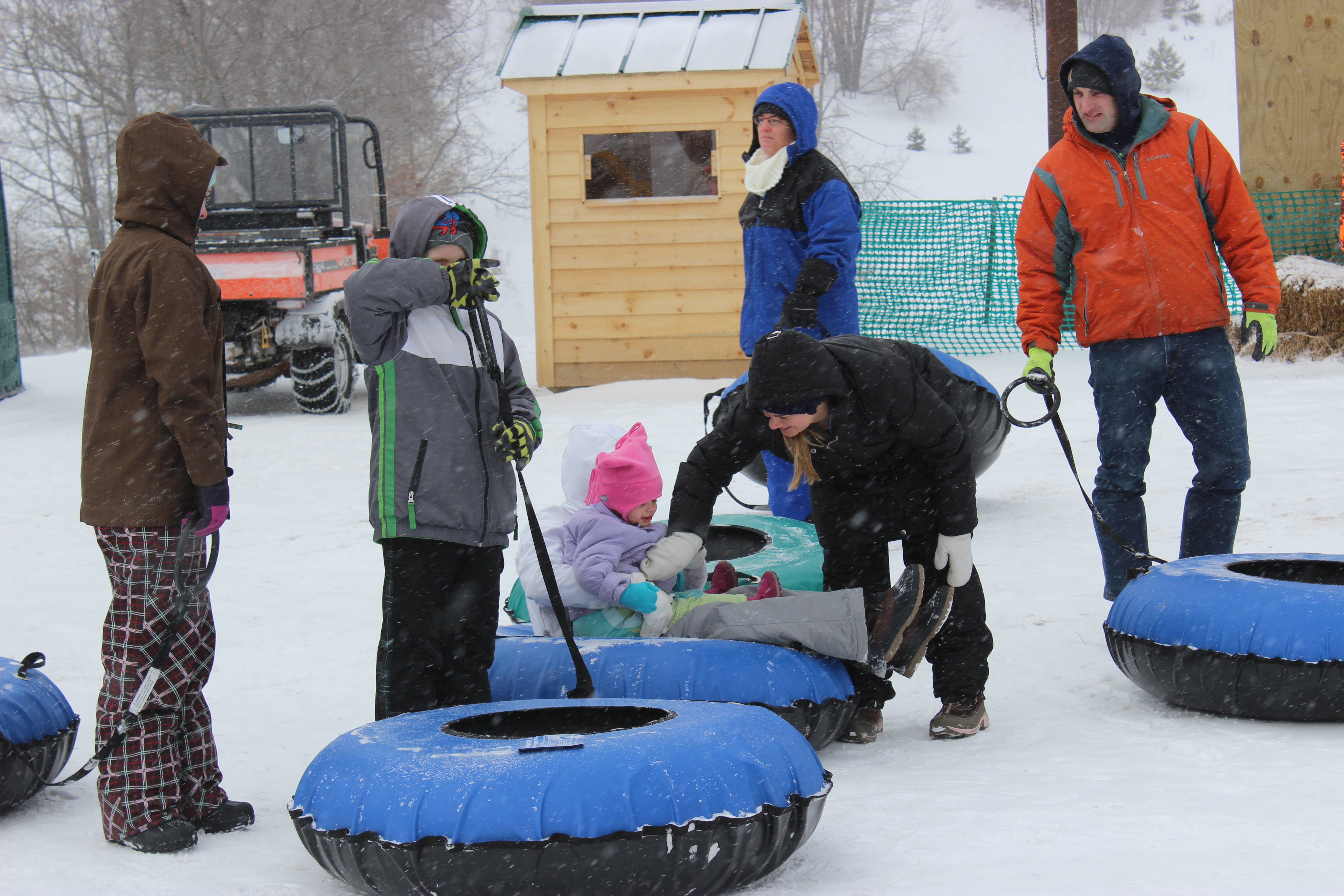 Winter Carnival Tubing
