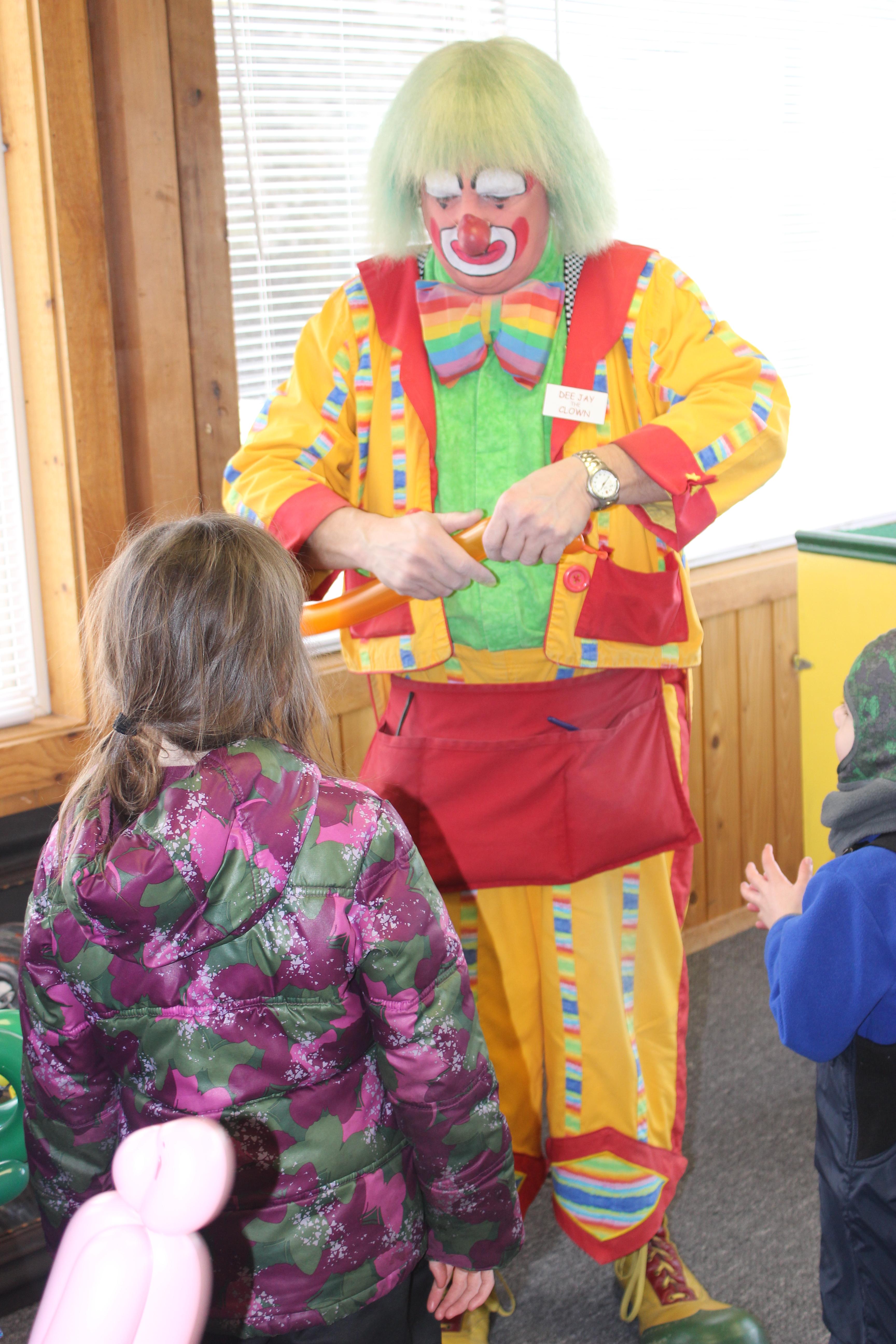 Winter Carnival Clown