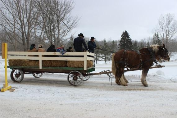 Winter Carnival - Wagon Rides