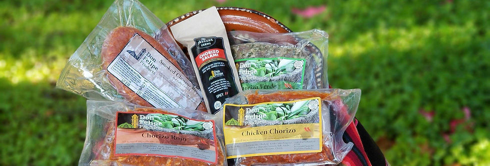Don Felipe Chorizo Variety Pack Delivery