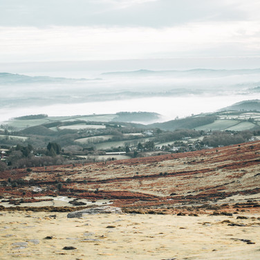 View from the top of Haytor
