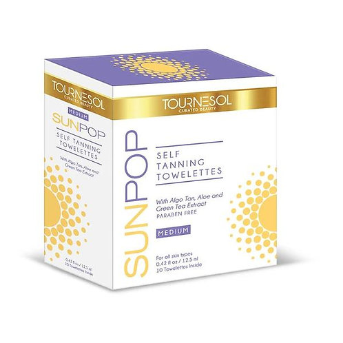 SELF TANNING TOWELETTES MEDIUM (10 TOWELETTES)