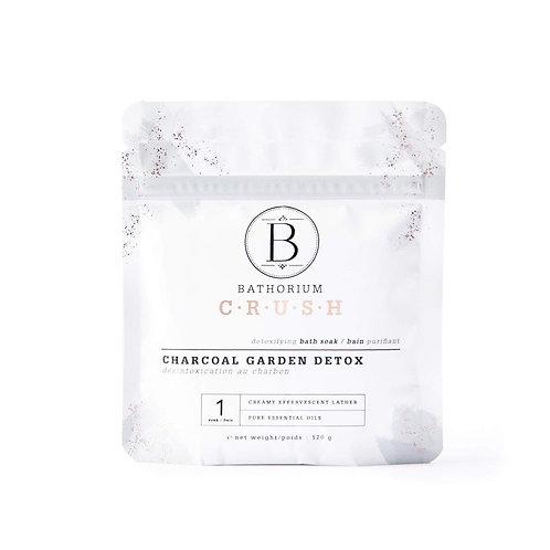 BATHORIUM CRUSH CHARCOAL GARDEN BATH SOAK