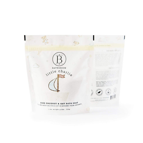 BATHORIUM LITTLE CHARLIE COCONUT & OAT BATH SOAK