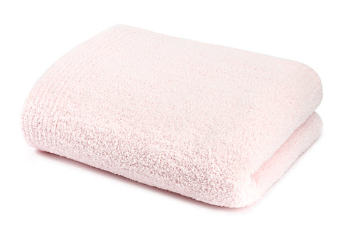SOLID THROW & BLANKET PINK