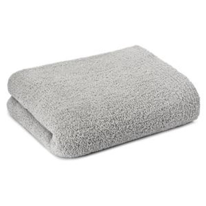 SOLID THROW & BLANKET STONE