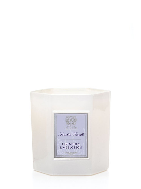 LAVENDER & LIME BLOSSOM 9OZ CANDLE