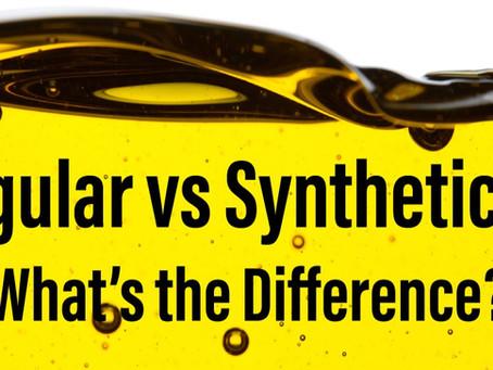 Synthetic Oil vs Regular Oil Changes