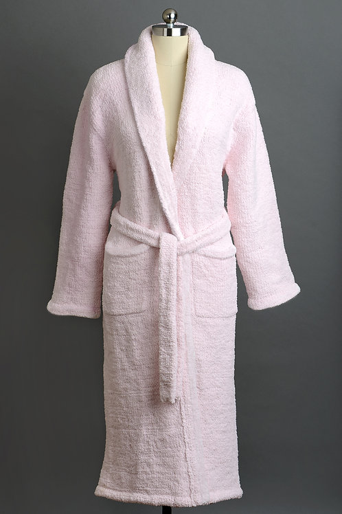 SIGNATURE SHAWL COLLAR ROBES Pink Large