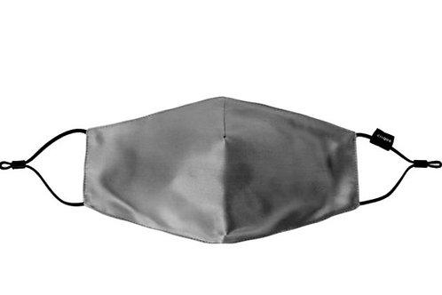 Cilque 100% Silk Plush Face Mask Grey