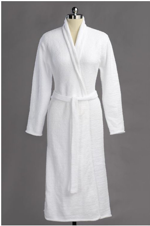 SEASONLESS ROBE WHITE X-LARGE