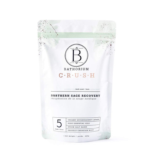 BATHORIUM CRUSH NORTHERN SAGE RECOVERY BATH SOAK
