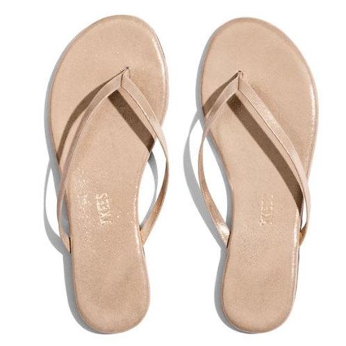 TKEES GLITTERS Pink Pearl Flip Flops