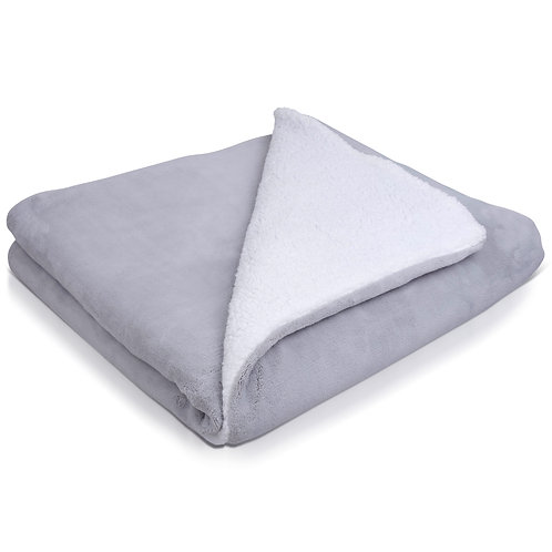 HUSH WEIGHTED SERPA THROW GREY