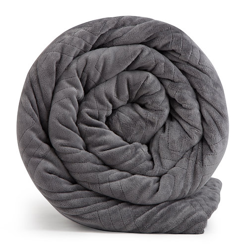 HUSH CLASSIC TWIN  WEIGHTED BLANKET GREY