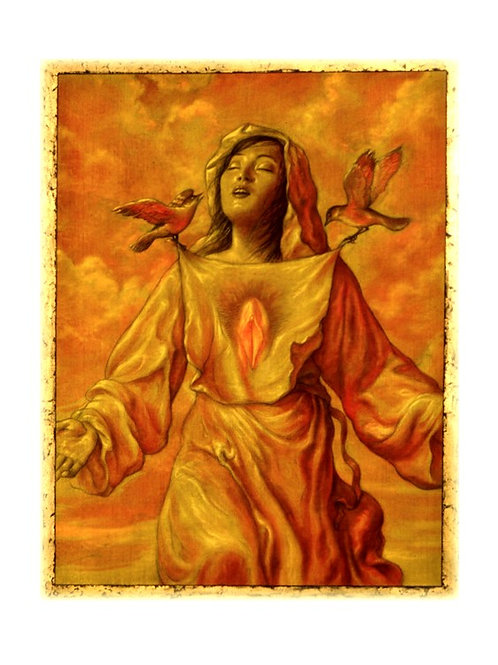 Virgin In Ecstasy  print
