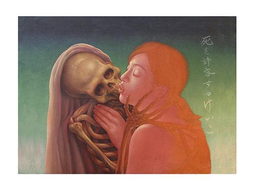 Keiko Embraces Death  print