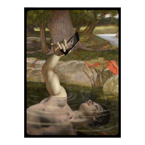 Death of Narcissus  print