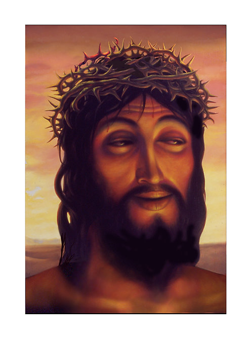 Lascivious Christ print
