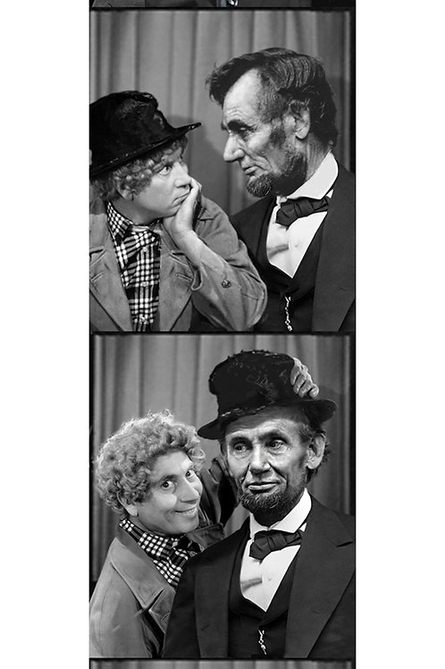Lincoln and Harpo  print