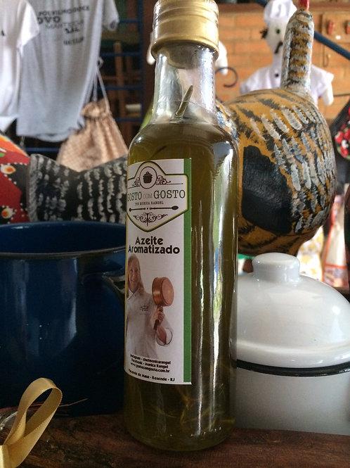 Azeite aromatizado com alecrim