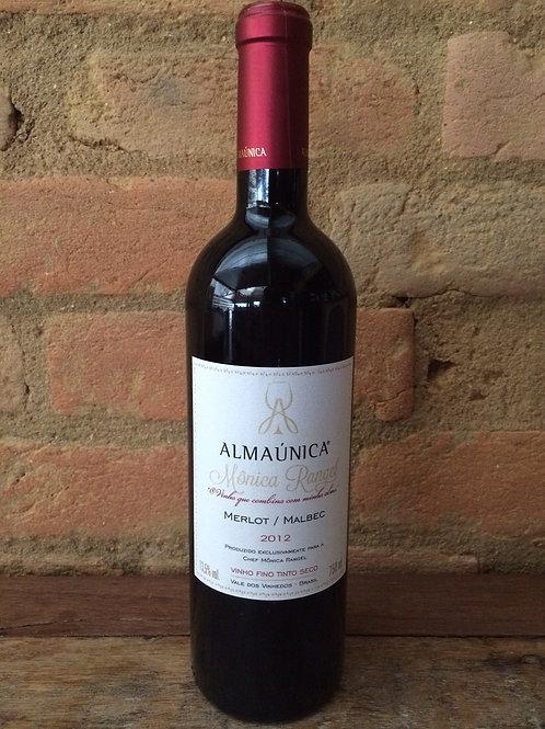 Vinho Alma Única Monica Rangel-Merlot/Malbec 750ml